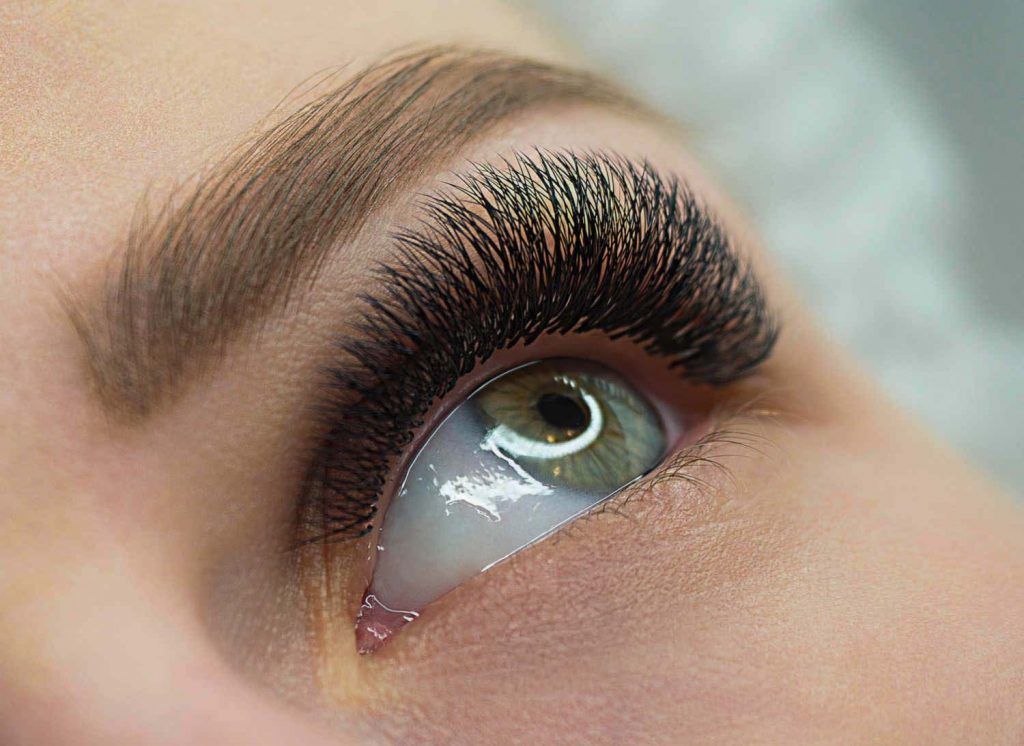 lash extensions by RM Lash & Beauty in Sydney cbd
